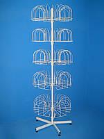 Стойка под шапки «Гвоздика» 5-тилучевая опора (105 кронштейнов)