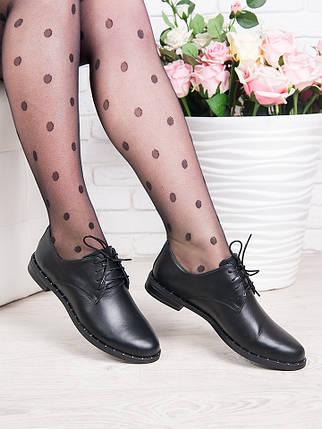 Туфли натуральная кожа шнурки 6360-28, фото 2