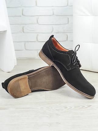 Мужские туфли натуральная замша 6377-28, фото 2