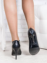 Туфли шнурки каблук кожа 6383-28, фото 3