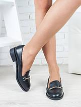 Туфли лоферы Пряжка кожа 6417-28, фото 2