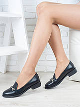 Туфли лоферы Пряжка кожа 6417-28, фото 3