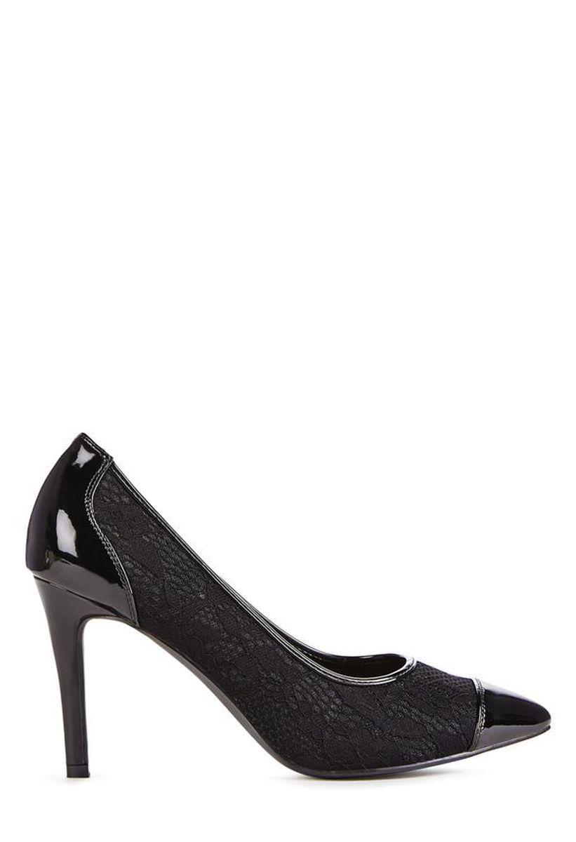 Туфли на шпильке JustFab Womens Helenne Black