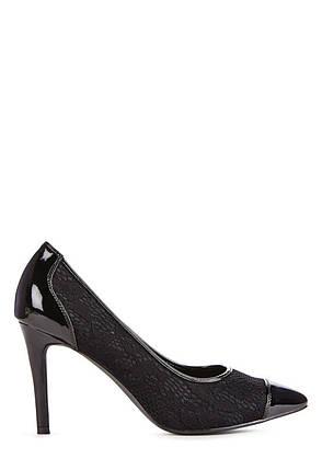 Туфли на шпильке JustFab Womens Helenne Black, фото 2