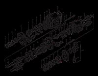 Сдвоенный шестеренный насос | Гидравлическая система фронтального колесного погрузчика XCMG ZL50G