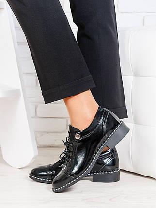 Туфли черные лаковая кожа 6676-28, фото 2