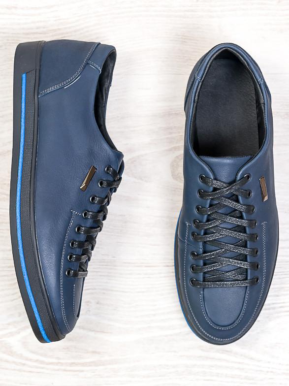 Мужские туфли т. синий 6683-28