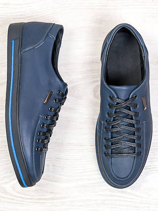Мужские туфли т. синий 6683-28, фото 2