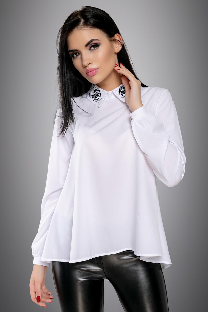 Красивая женская Блуза 2707 белый