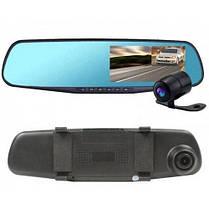 Видеорегистратор зеркало 1080P на 2 камеры DVR FULL HD, фото 2