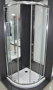 Кабіна душова VILARTE QU-100 1000х1000х1850 без піддону Польща