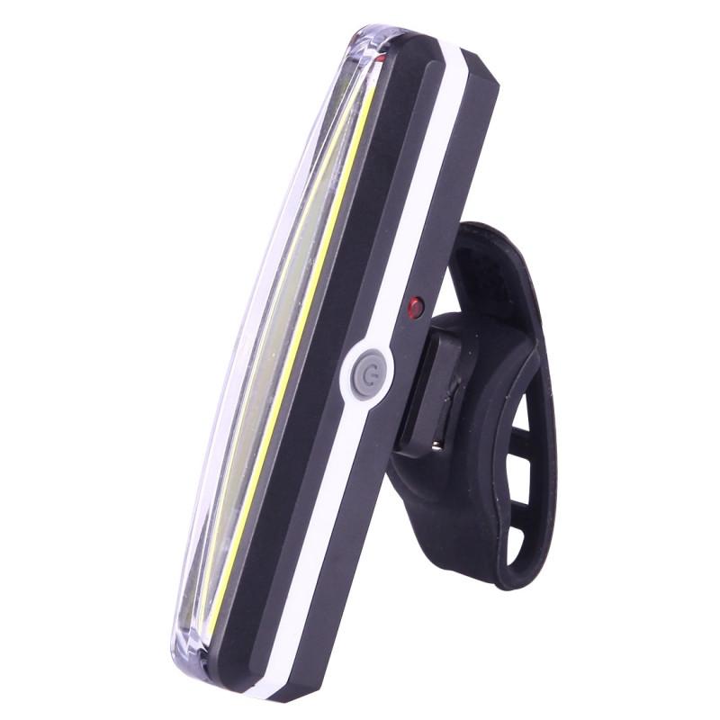 Ліхтар універсальний RPL-2266-COB, акум., ЗУ micro USB, світло червоний/синій