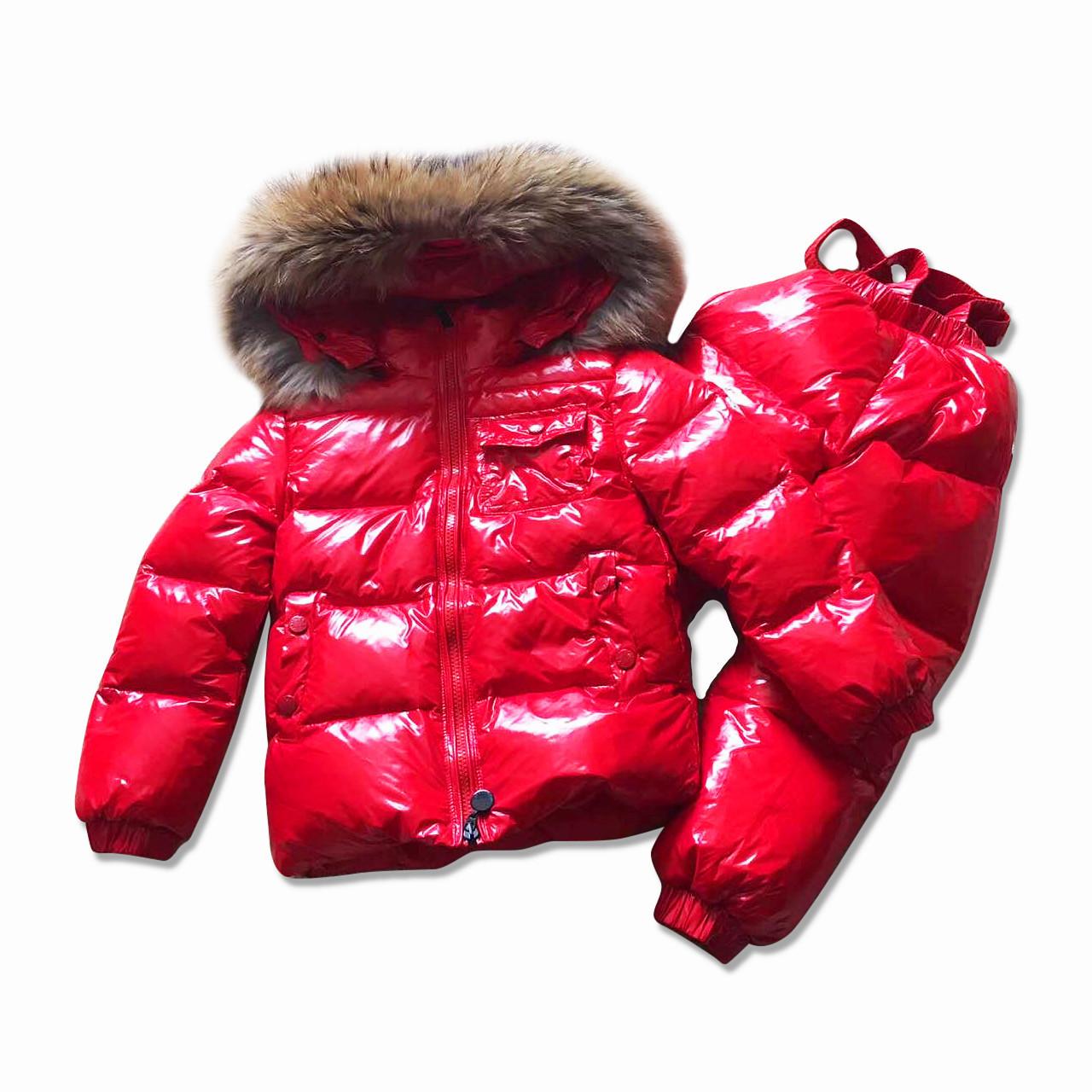Детский зимний комплект Sabbi красный глянец