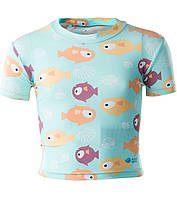 Купальная футболка для девочки AquaWave Sea Girl Kids Swim Shirt BLUE