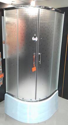 Душова кабіна 90x90х27 INVENA бульбашки, фото 2