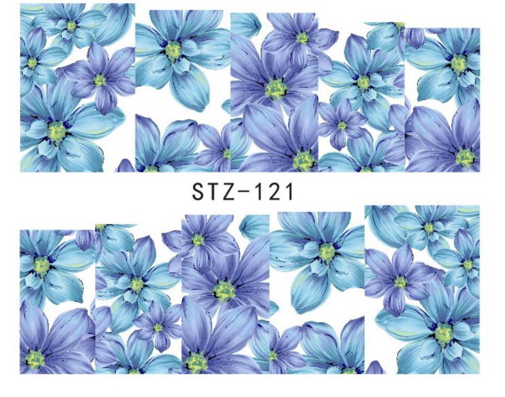 Слайдер-дизайн для ногтей STZ-121 6.2*5.2 см