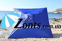 Зонт Садовый Зонт Торговый Зонт для дачи сада Кафе Ресторана Квадрат 3х3 м
