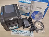 Универсальный принтер этикеток Xprinter XP-370BM (USB+LAN+RS232)