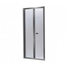 Душові двері в нішу 80 прозорі bifold Eger Угорщина, фото 2