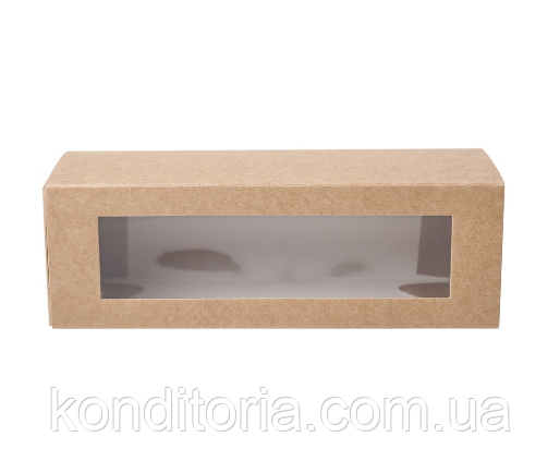 Коробка для макарон (Macarons) 15*5*5см