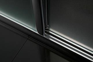 Душові двері в нішу 120 прозорі bifold Eger Угорщина, фото 3