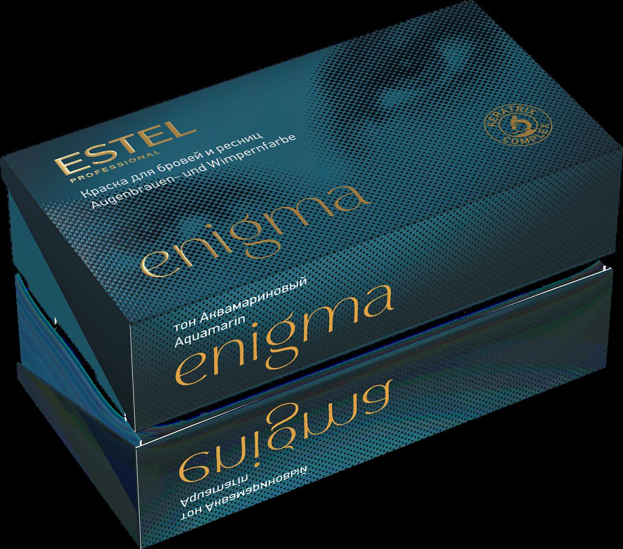 Краска для бровей и ресниц аквамариновый Estel Enigma