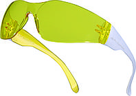 Очки защитные Delta Plus BRAVA2 YELLOW (желтые линзы)