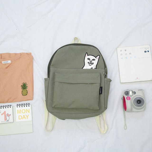 Молодежный рюкзак Кот Fuck