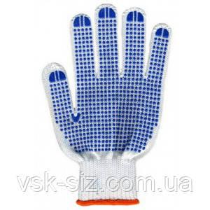 Перчатки с ПВХ точкой 8710