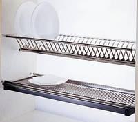 Сушка нержавейка для посуды 800 мм