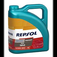 REPSOL PREMIUM TECH 5W-40 4L