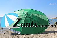 Садовый Зонт Торговый Зонт для Кафе пляжный зонт Большой прочный 3.5м 12 толстых спиц