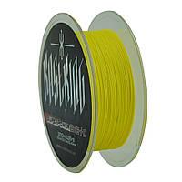 Рыболовный шнур KastKing 4 жильный плетеный 300м 0.25мм леска плетенка желтый Касткинг