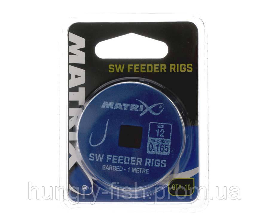 Готові повідці Matrix SW Feeder Rig Size 14