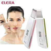 Скрабер ультразвуковой Elera BJ-1357 портативный для пилинга, чистки и омоложения кожи