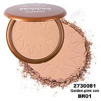 Бронзуюча пудра для обличчя та тіла  Flormar BRONZING PWDER 01 Golden-pink sand 33 г (2730081)