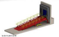 Эстакада 7м 6т для микроавтобусов с герметизатором проема 3х3м