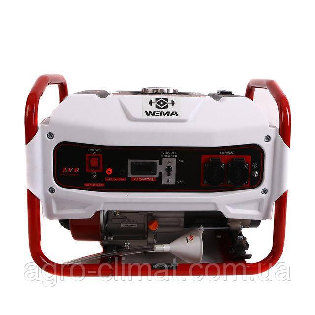 Генератор однофазный бензиновый Weima WM2500 (2,5 кВт) 1 фаза
