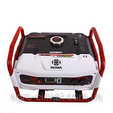 Генератор однофазный бензиновый Weima WM2500 (2,5 кВт) 1 фаза, фото 2