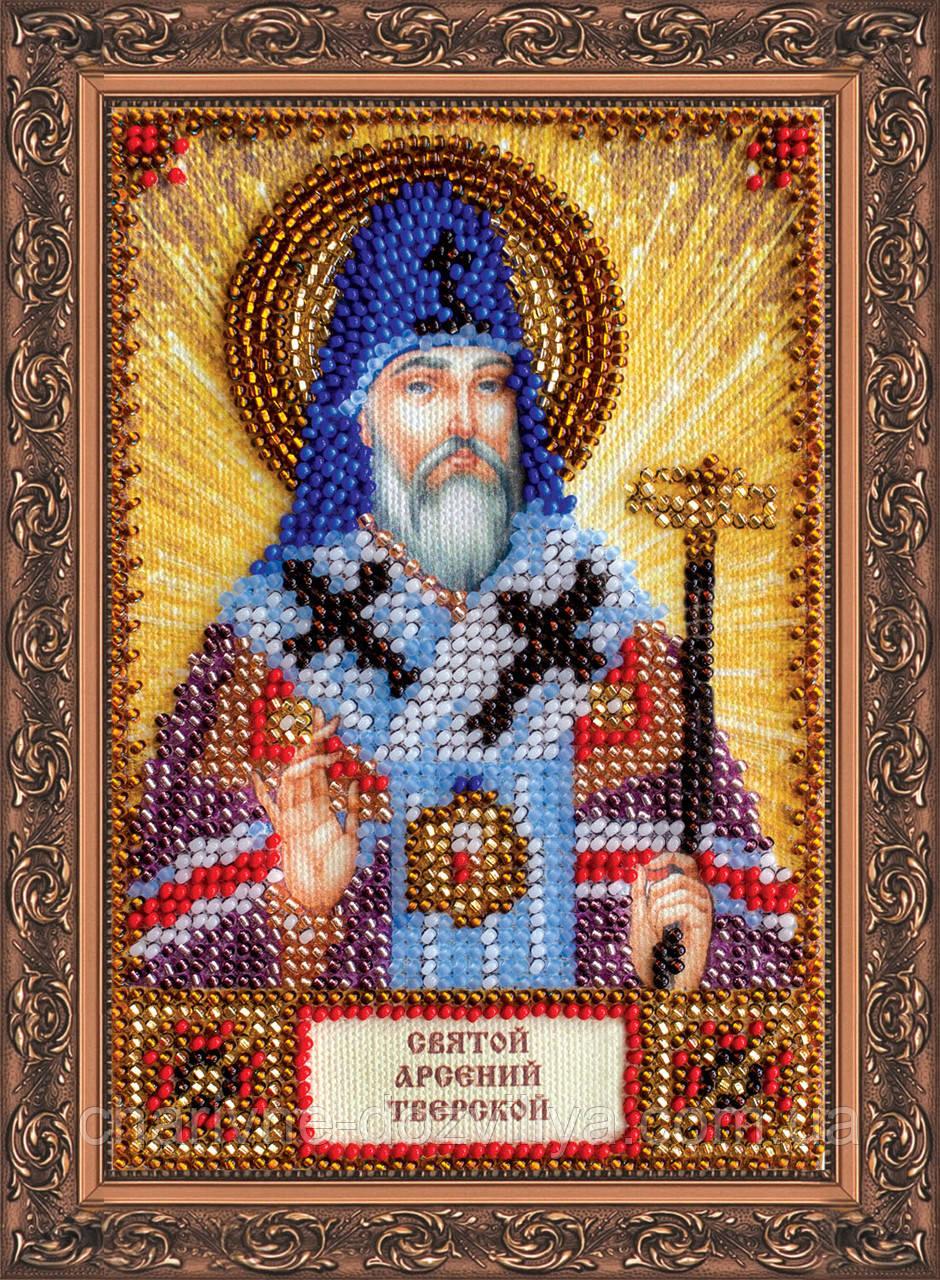 Набор для вышивки бисером икона Святой Арсений