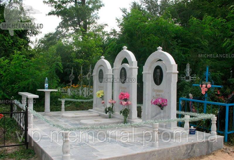 Мраморный памятник М-532