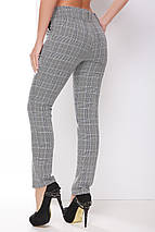Женские деловые клетчатые брюки (1789 mrs), фото 3