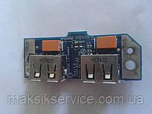 USB плата с шлейфом Toshiba A205 A200-1N1  LS-3484P