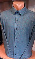 Рубашка мужская с длинным рукавом DERGI 3008