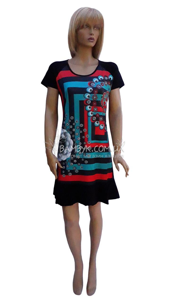 Модное летнее платье Bebygul №870