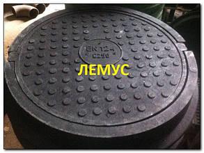 Люк полимерпесчаный С250 черный без запорного устройства