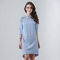 "Голубое короткое платье ""Лада"", фото 1"