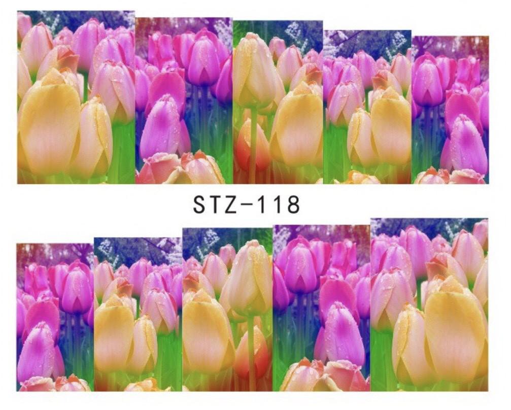 Слайдер-дизайн для ногтей STZ-118 6.2*5.2 см