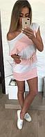 Платье женское двухцветное  мал182, фото 1