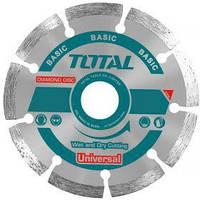 Акс.инстр TOTAL TAC2111253 Алмазный диск сегм, универс, 125х22.2мм.